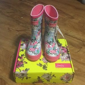 abf28ad121d6f Joules Shoes   Rain Boots Toddler Girls   Poshmark
